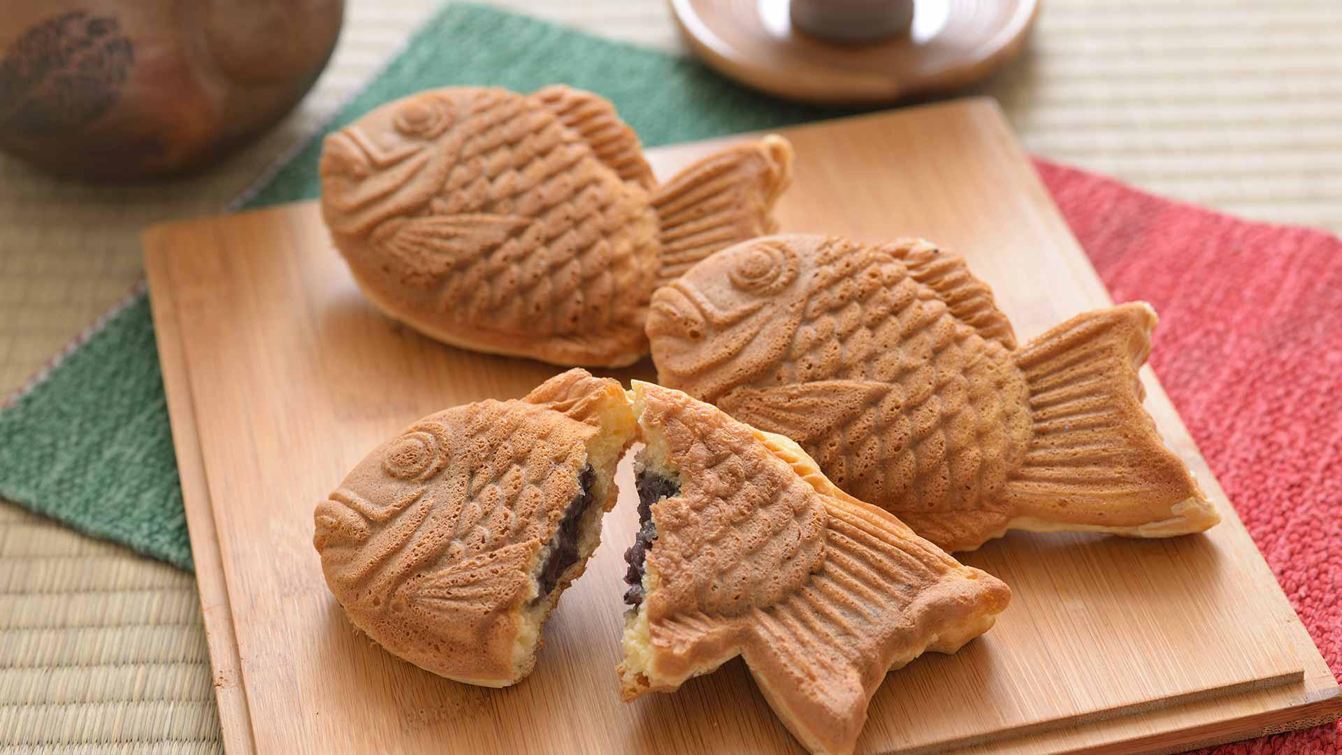 japanese junk food snacks Taiyaki